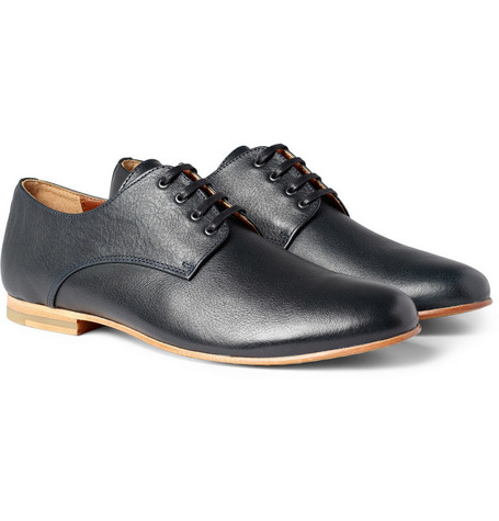 B Store Mario Lace-Up Leather Shoes