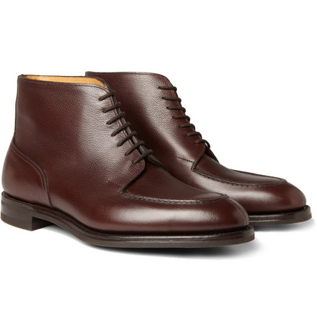 John Lobb Chambord II Leather Boots