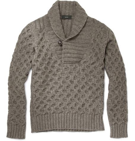 Knitting Pattern Central Vests : FREE KNITTING PATTERN SHAWL COLLAR VEST   KNITTING PATTERN