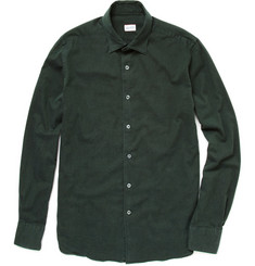 Incotex Glanshirt Slim Fit Twill Shirt