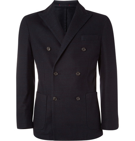 Slowear Double-Breasted Blazer