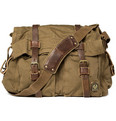 Belstaff Cotton-Canvas Messenger Bag