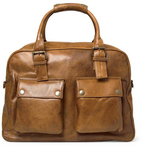 Belstaff Tour Leather Holdall Bag