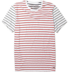 Aubin & Wills Contrast Stripe T-Shirt