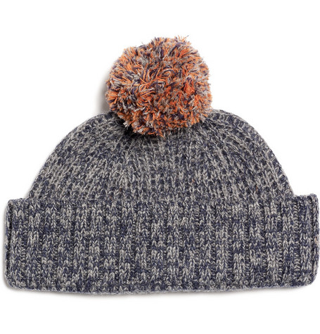Aubin & Wills Oltontop Wool Bobble Hat