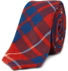 Alexander Olch The Walter Plaid Wool Tie