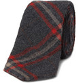 Alexander Olch The Penn Plaid Wool Tie