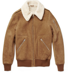 A.P.C. Shearling Aviator Jacket