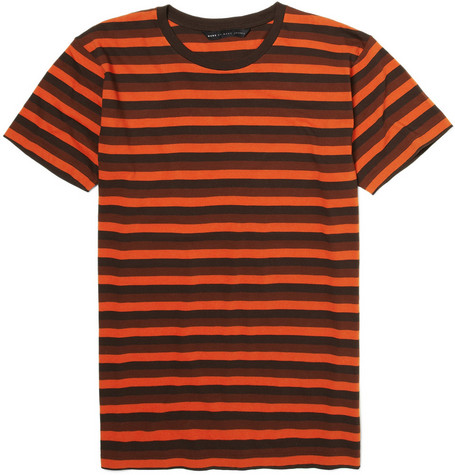 Marc by Marc Jacobs Blake Striped Cotton T-shirt