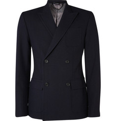 Marc by Marc Jacobs Double-Breasted Peak Lapel Blazer