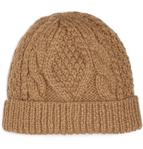 Marc by Marc Jacobs Cable Knit Beanie Hat