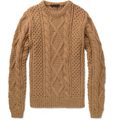 Marc by Marc Jacobs Wool-Blend Aran Sweater