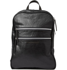 Marc by Marc Jacobs Zipped Leather Backpack