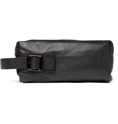 Marc by Marc Jacobs Perforated Leather Wash Bag
