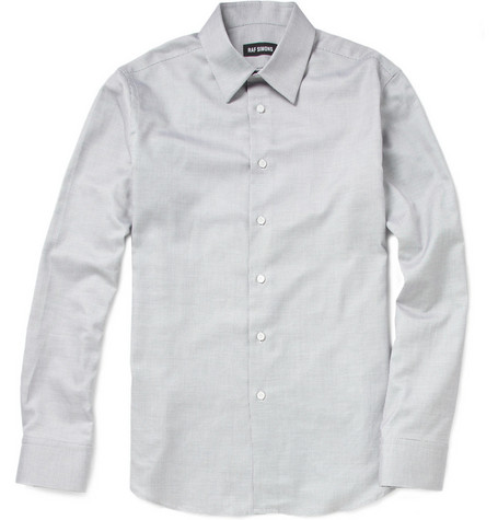 Raf Simons Pin Dot Cotton Shirt