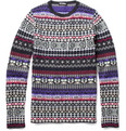 Raf Simons Slim Fit Patterned Sweater
