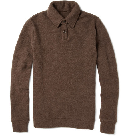 The Elder Statesman Cashmere Rugby Sweater