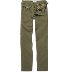YMC Slim Fit Military-Style Trousers