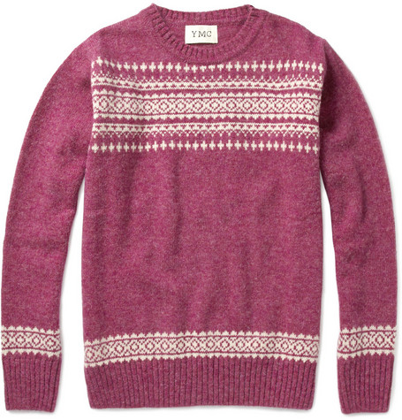 YMC Fair Isle Wool Sweater