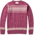 YMC - Fair Isle Wool Sweater