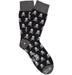 Corgi Skull and Crossbones Socks