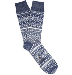 Corgi Thick Fair Isle Socks