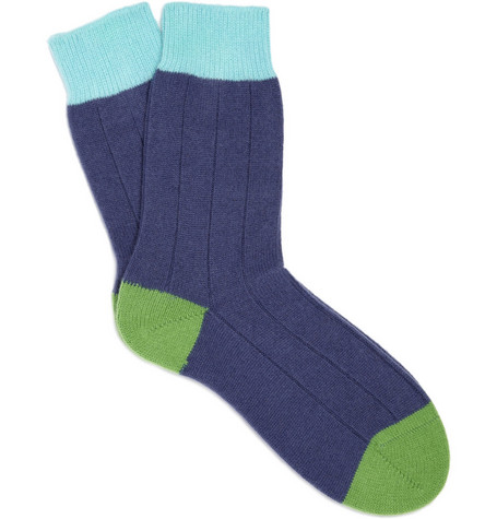 Richard James Cashmere Socks