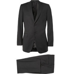 Alfred Dunhill Grey Slim-Fit Wool-Twill Suit