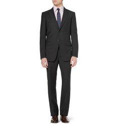Alfred Dunhill Dark Grey Slim-Fit Wool-Twill Suit