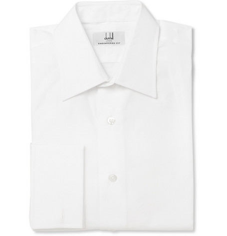 Alfred Dunhill Double-Cuff Cotton Shirt