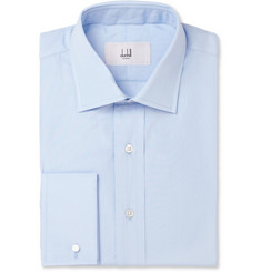Alfred Dunhill Light Blue Cotton Shirt
