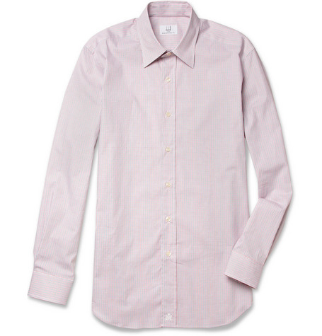 Alfred Dunhill Check Cotton-Blend Shirt