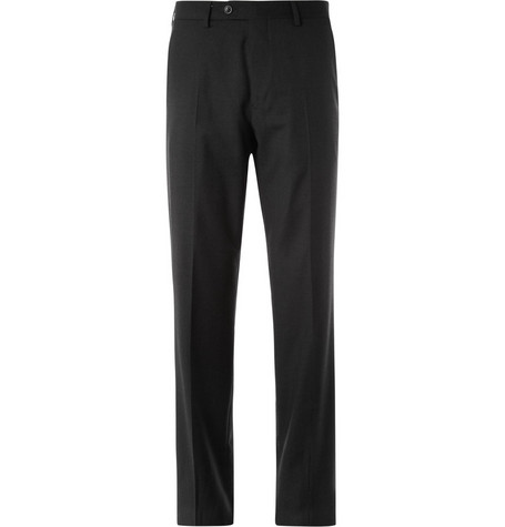 Alfred Dunhill Straight-Leg Wool-Twill Trousers