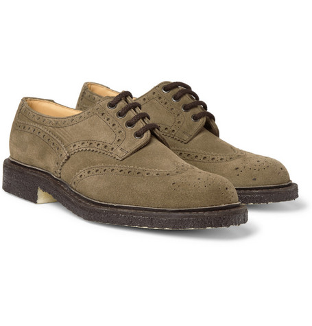 Church's Coleby Castoro Suede Wingtip Brogues