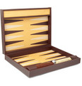 Alfred Dunhill Leather Backgammon Set