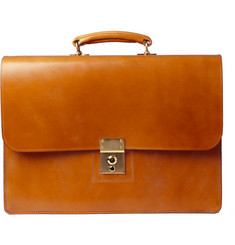 Swaine Adeney Brigg Westminster 2 Bridle Leather Briefcase
