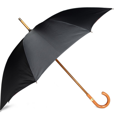 Swaine Adeney Brigg Umbrella with Contrast Lining