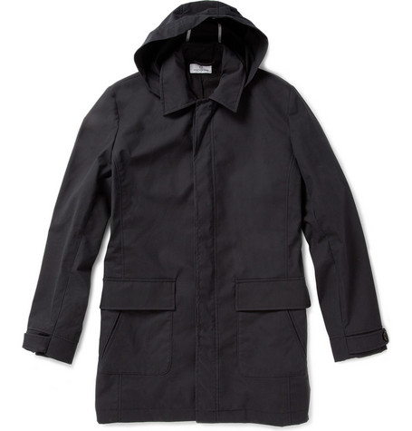 Hentsch Man Waxed Cotton Parka Jacket