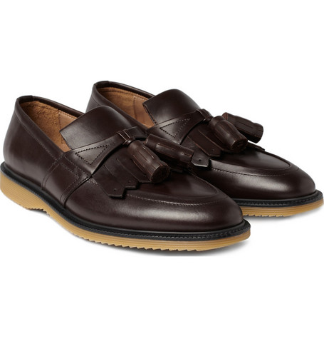 Burberry Shoes & Accessories Tasselled Fringed Loafers
