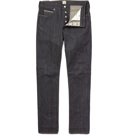 J.Crew 484 Slim-Fit Raw Selvedge Jeans
