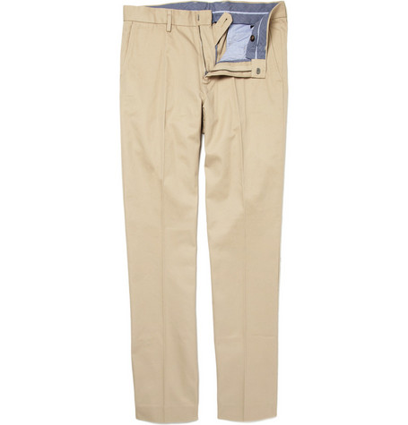 J.Crew Urban Bowery Slim-Fit Cotton Trousers