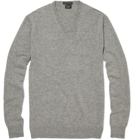 J.Crew Cashmere V-Neck Sweater