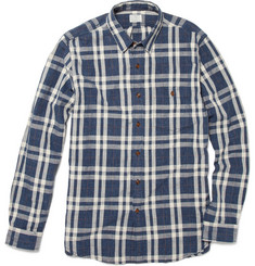 J.Crew Altus Plaid Cotton Shirt
