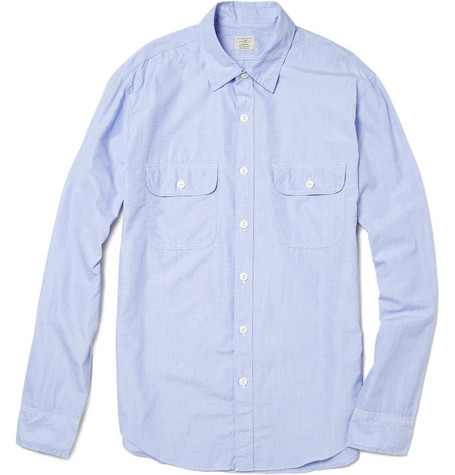J.Crew Cotton Shirt with Chest Pockets