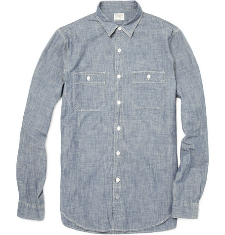 J.Crew Washed Chambray Shirt