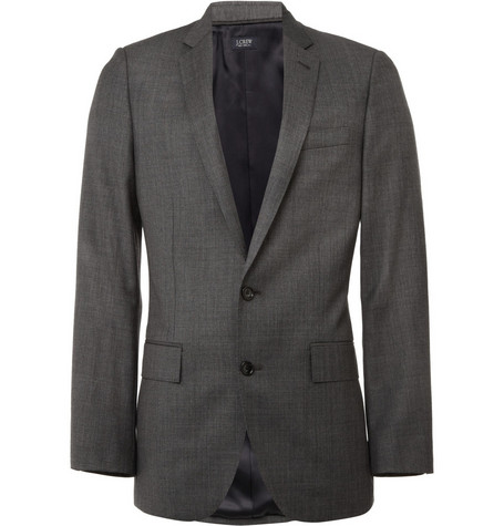 J.Crew Worsted Wool Ludlow Suit Blazer