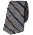 J.Crew - Truffaut Striped Wool and Silk-Blend Tie