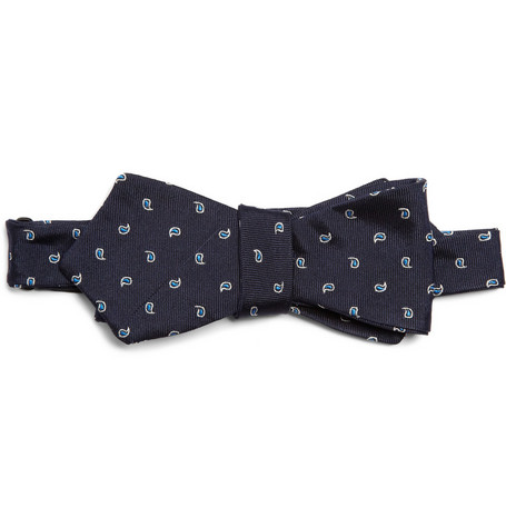 J.Crew Paisley Patterned Silk Bow Tie