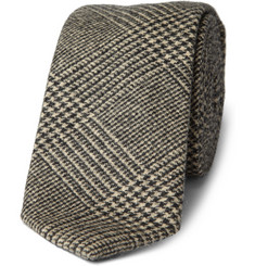 J.Crew Hudson Glen Wool-Blend Plaid Tie