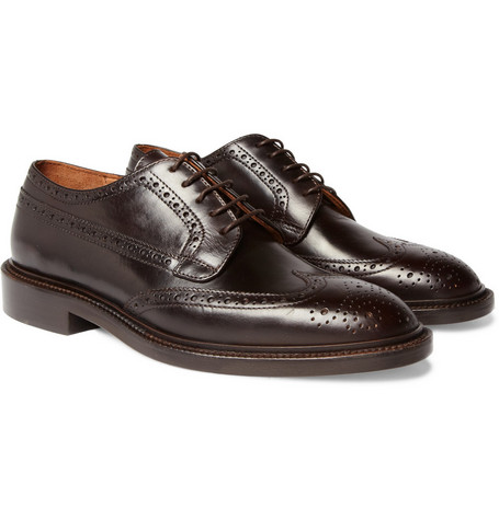 J.Crew Gifford Leather Wingtip Brogues